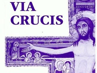 Assisi, Settimana Santa, la Via Crucis nella Basilica di Santa Chiara