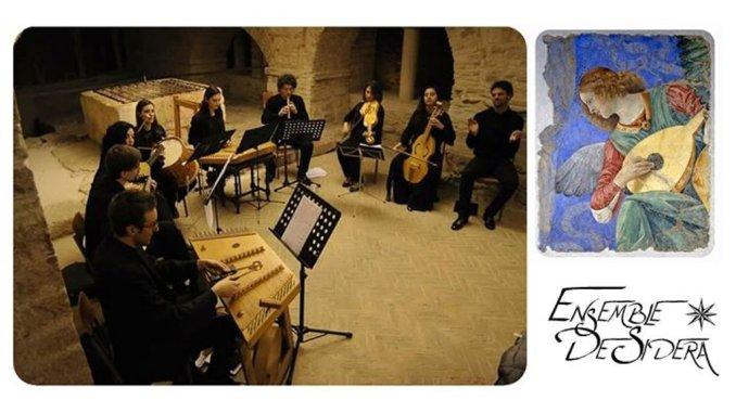 Ensemble De Sidera in concerto ad Assisi al Museo diocesano di San Rufino