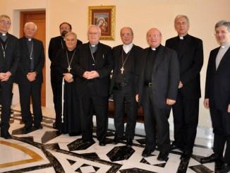 La gioia della CEU per erezione ad Assisi del Santuario della Spogliazione