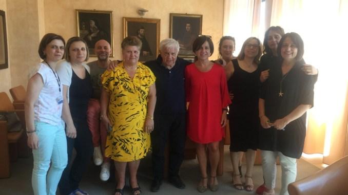 Don Antonio Mazzi e Barbara InvernizziFondazione Exodus ad Assisi