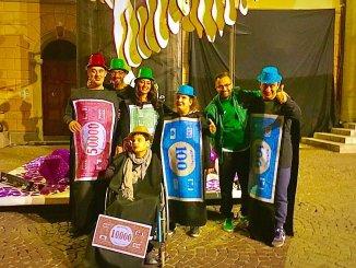 Ragazzi del Serafico alla sfilata del Rione San Rocco a Bastia