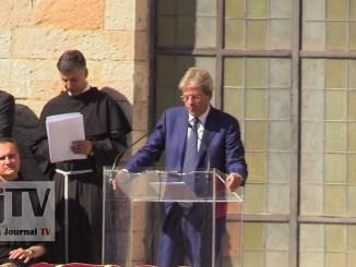 Merkel, anche il presidente del Consiglio Paolo Gentiloni sarà ad Assisi
