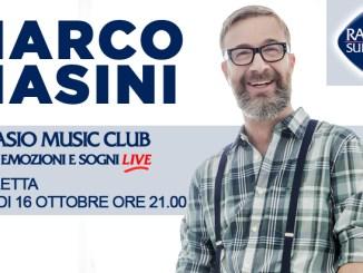 Subasio Music Club di Assisi ospita Marco Masini