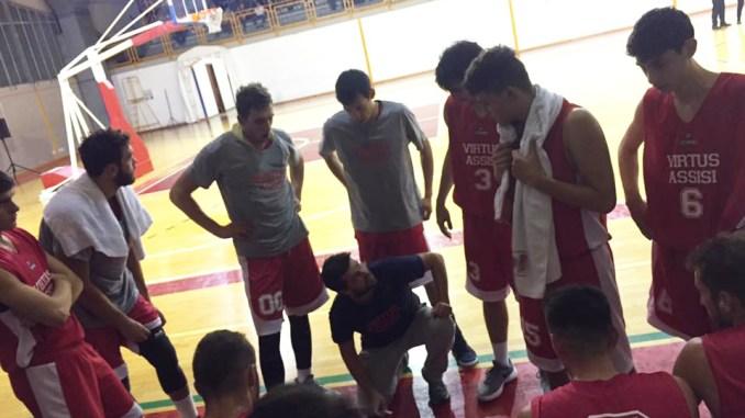 Basket, la Virtus Assisi chiude la coppa con una vittoria: 90-40