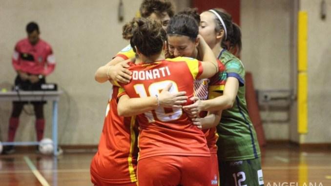 Calcio a5 femminile, boom Angelana, terza conferma per la squadra assisana