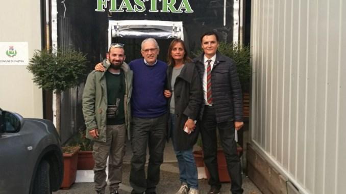 Nonna Peppina, incontro con il sindaco di Fiastra