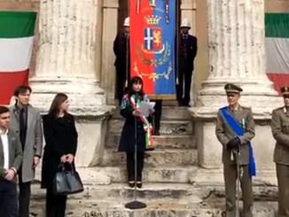 Assisi ha celebrato il 4 novembre, in corteo da Piazza Santa Chiara fino al comune