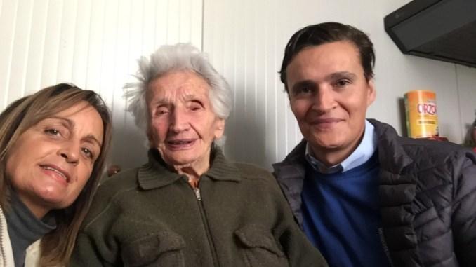 Nonna Peppina un 95esimo compleanno davvero speciale