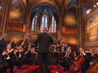 Mattarella, Bassetti e Lamorgese a concerto di Natale