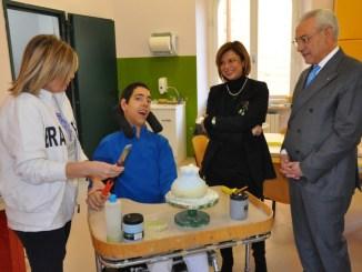 Visita del Prefetto di Perugia all'istituto Serafico di Assisi