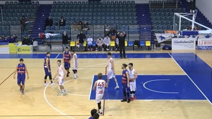 Basket, Adrilog Virtus Assisi sconfitta di misura a Viterbo