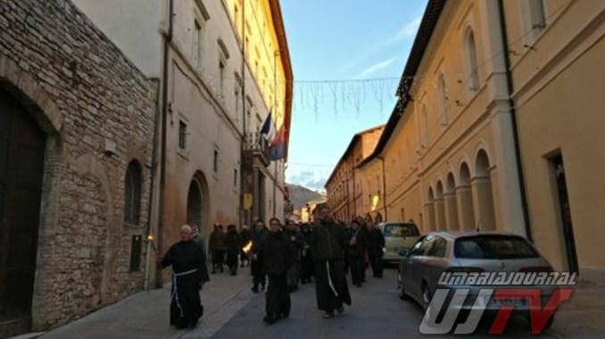 Incontri religiosi e Piatto di Sant'Antonio, Assisi e Santa Maria in fermento