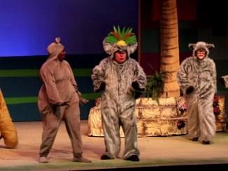 Madagascar. A musical adventure, spettacolo musicale al teatro Lyrick