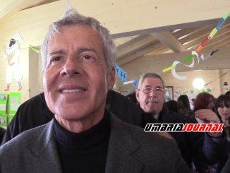 Sanremo 2018 Claudio Baglioni ai microfoni di Radio Subasio