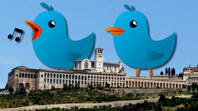 Tweet stupito di Eugenio Guarducci, su proposta social di Discorverassisi