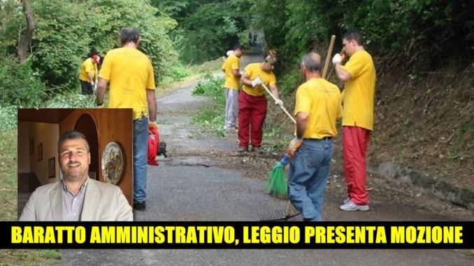 Baratto amministrativo Leggio M5s presenta mozione in Comune ad Assisi