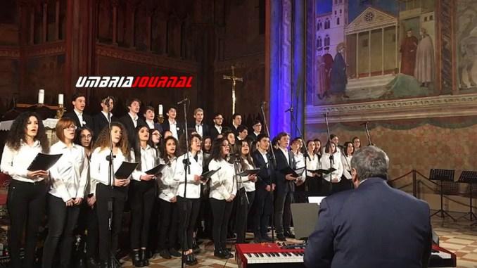 Euroschool Festival 2018 ad Assisi applausi e emozione per il concerto inaugurale