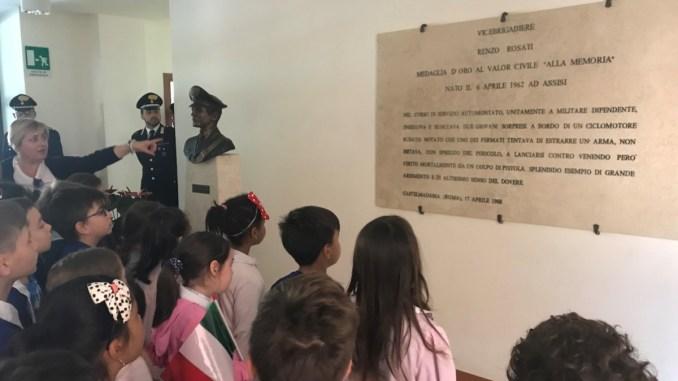 Assisi, celebrazione del trentennale della morte del Vice Brigadiere Enzo Rosati
