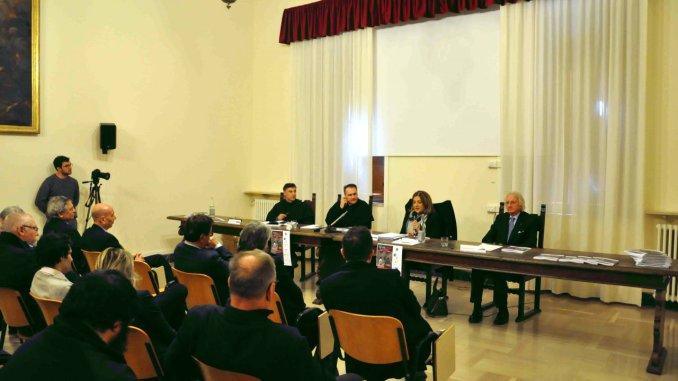 Inaugurazione mostra Terre Moti ad Assisi al Sacro Convento