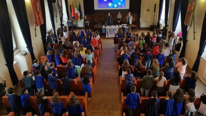 Festa dell'Europa ad Assisi l'unione fa la forza
