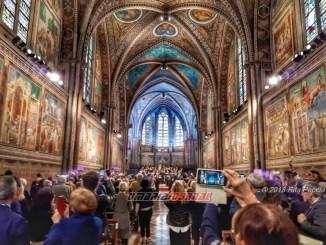 Re Giordania ad Assisi per Lampada pace San Francesco