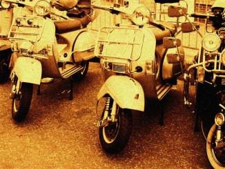 Vespa Club Assisi al Raduno Internazionale Registro Storico Vespa
