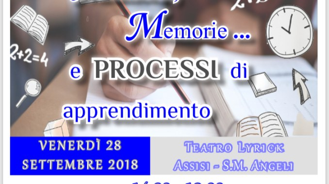 Disturbi apprendimento, corso di Formazione dell'Associazione DSA Assisi