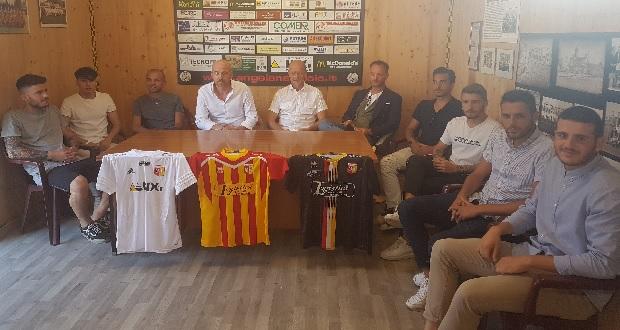 Angelana calcio, quadri societari e tecnici presentati alla stampa