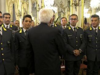 Finanza di Assisi, Luogotenente Stefano Ricci premiato dal presidente Mattarella
