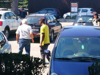 Parcheggiatori abusivi, CasaPound, controlli più frequenti a Santa Maria