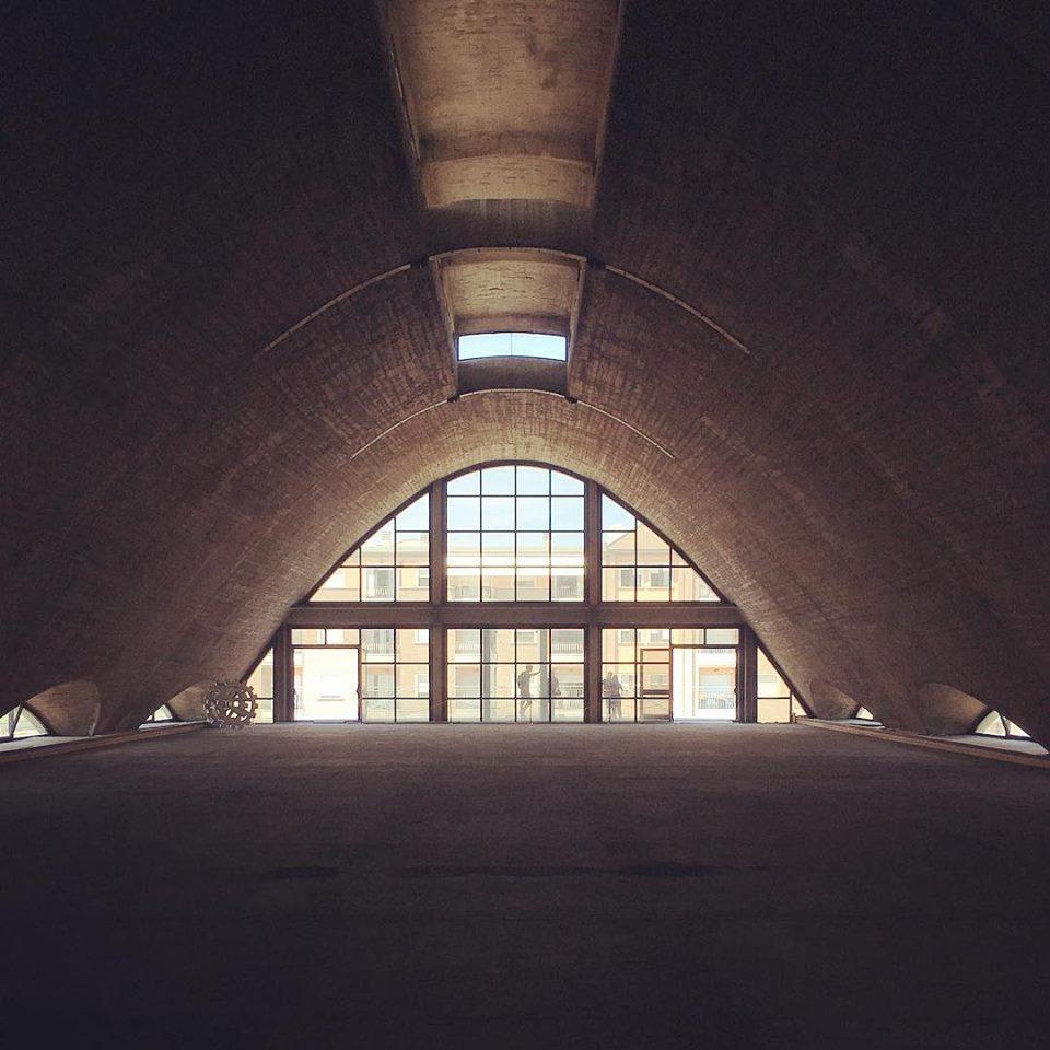 La fabbrica di perfosfato a Santa Maria, Ex Montedison