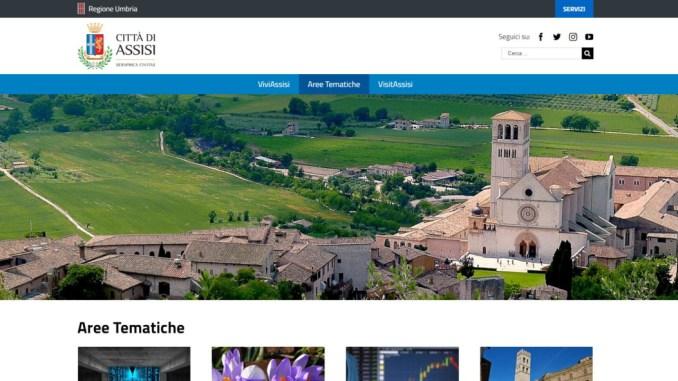 Il nuovo sito del comune di Assisi, un portale istituzionale più moderno e usabile