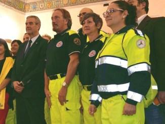 Prevenzione incendi ad Assisi, protezione civile comunale, gli angeli del Gruppo di Volontari