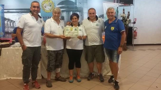 Tappa in Abruzzo, a Poggio Morello per il Vespa Club Assisi