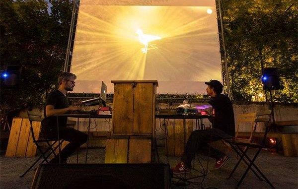Assisi, Sala piano vicolo degli Esposti concerto audiovisual con Okapi & Memè