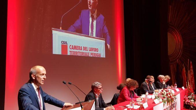 Congresso Cgil, Ciavaglia ad Assisi, siamo pronti a mobilitazione se non ascoltati