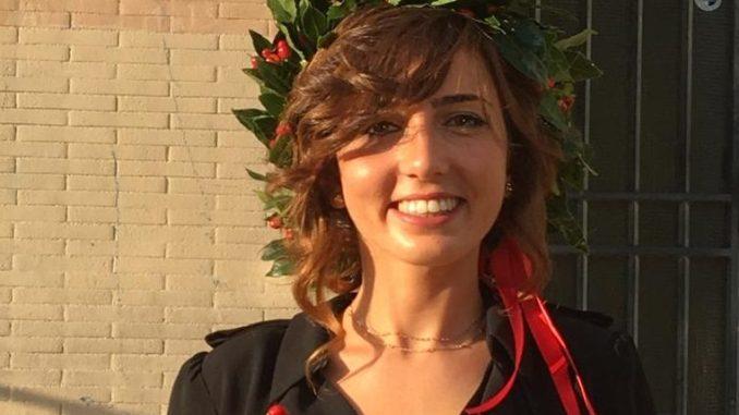 Sara Macellari laureata in Matematica, gli auguri della sua famiglia