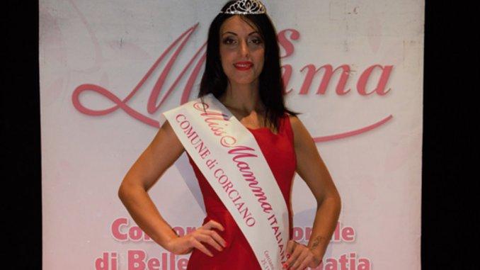 Giada Bistocchi di Tordandrea di Assisi, è Miss Mamma Italiana a Corciano