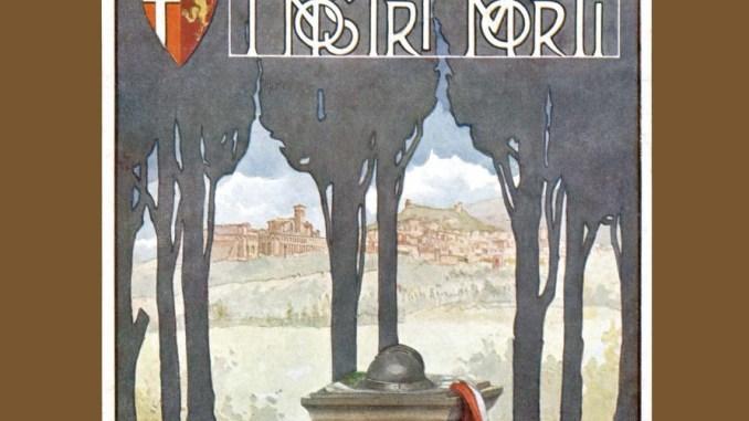 Assisi ricorda caduti Grande Guerra iniziativa Accademia Properziana