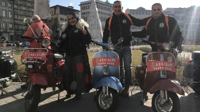 Inizia ufficialmente la stagione vespistica del Vespa Club Assisi