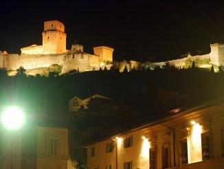 Assisi, m'illumino di meno, la città spegna i monumenti