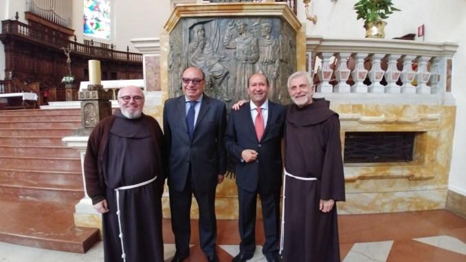 Visita in Porziuncola degli Ambasciatori d'Egitto in Italia e presso la Santa Sede