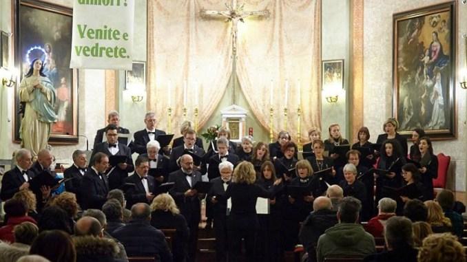 Cantori di Assisi, concerto della Settimana Santa alla Basilica di Santa Chiara