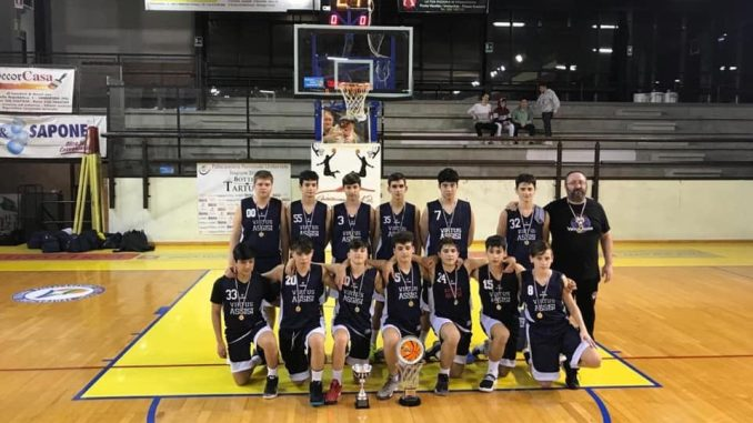 Basket, Under 15 della Virtus Assisi è campione regionale