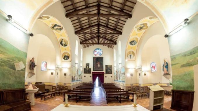 Gli affreschi della chiesa parrocchiale di Torchiagina di Francesca Capitini