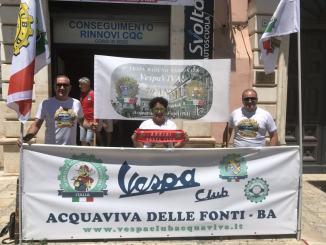 Il vespa Club Assisi arriva in Puglia ad Acquaviva delle Fonti
