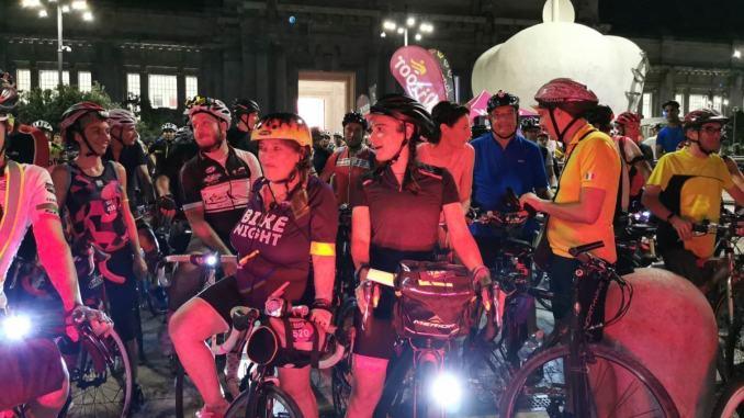 In bicicletta di notte, Bike Night, da Assisi a Norcia, romantico no?