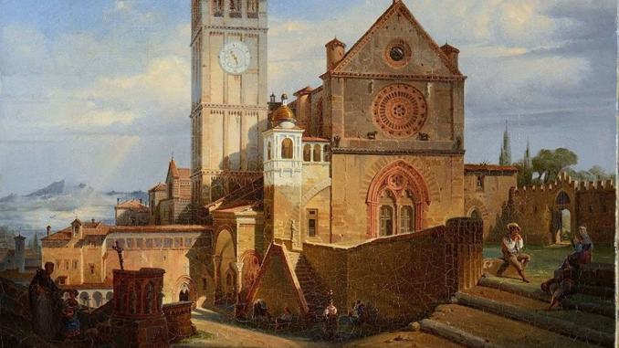 Il muro di Assisi, Terzetti scrive al Padre Custode, Mauro Gambetti