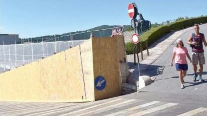 Il muro della discordia ad Assisi, che ne dice l'ex sindaco Antonio Lunghi?