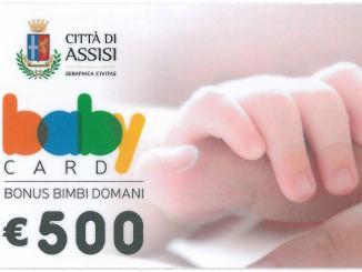 """Bonus """"Bimbi Domani"""", consegnate 300 baby card, in un anno e mezzo"""